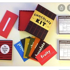 NWT Chocolate Tasting Kit Foodie Gift Book Game